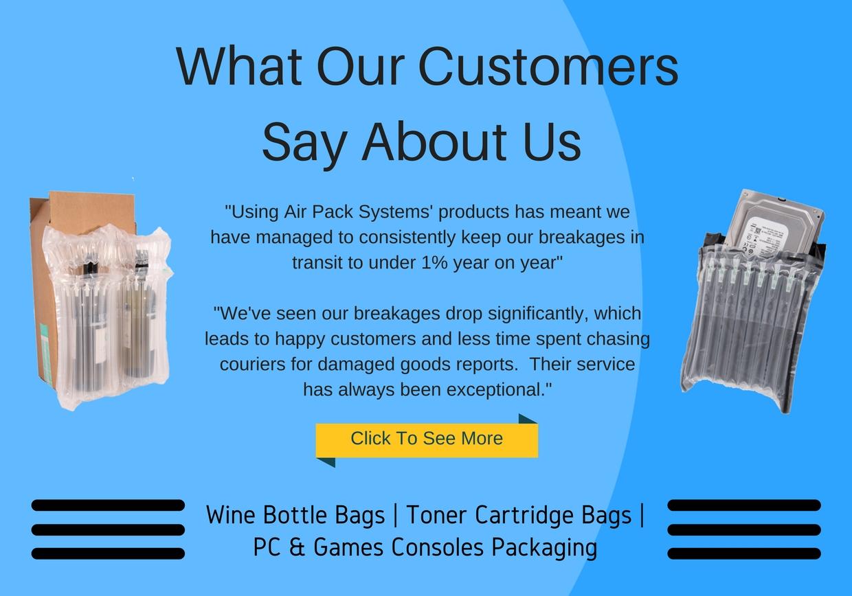 Inflatable Packaging | AirPack Packaging
